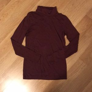 J. Crew Maroon Turtle Neck